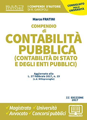 Compendio di contabilità pubblica (contabilità di Stato: Marco Fratini