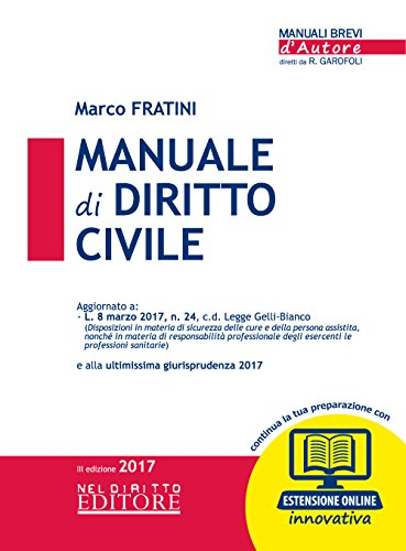 Manuale di diritto civile. Con Contenuto digitale: Marco Fratini