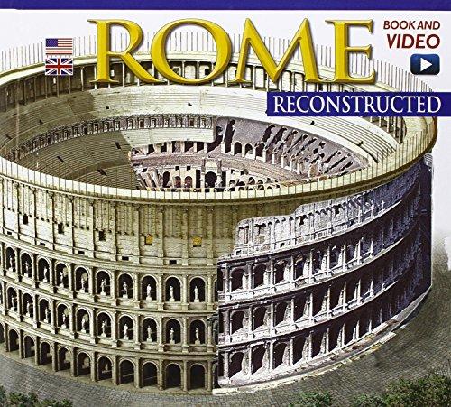9788866680444: Roma ricostruita. Con DVD. Ediz. inglese