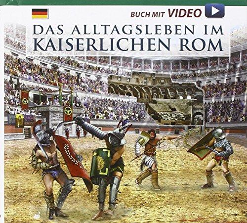 9788866680819: Vita quotidiana nella Roma imperiale. Il racconto della vita quotidiana nell'antica Roma... Con DVD. Ediz. tedesca