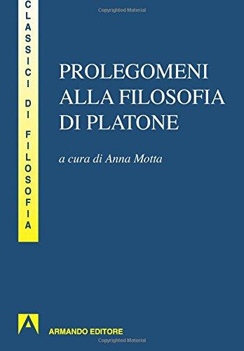 9788866774280: Prolegomeni alla filosofia di Platone