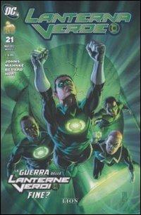 9788866910565: La guerra delle lanterne verdi fine? Lanterna verde: 21
