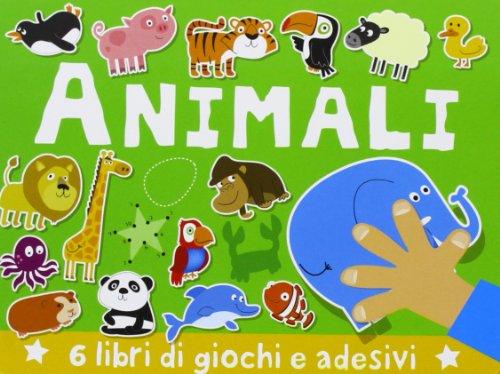 9788867140879: Animali. Con adesivi. Ediz. illustrata (A pagine aperte)