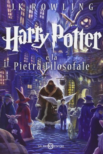 9788867155958: Harry Potter e la pietra filosofale: 1 (Harry Potter Italian)