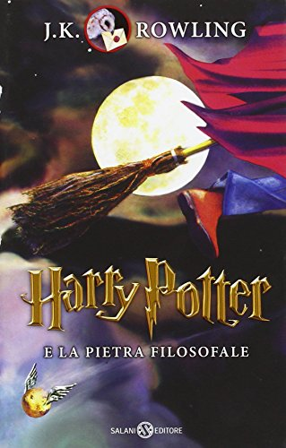9788867158126: Harry Potter e la pietra filosofale [Quarta ristampa]: 1