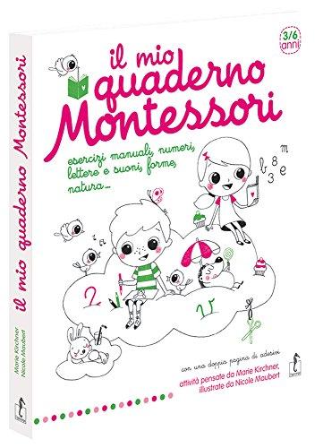 9788867221820: Il mio quaderno Montessori. Ediz. illustrata