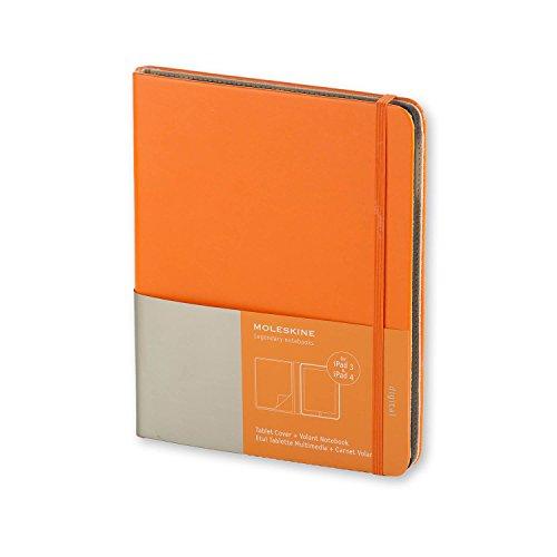 9788867321032: Ipad 3 and 4 Moleskine Orange Slim Digital Cover with Notebook (Moleskine Digital Covers)