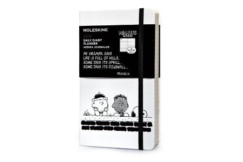 9788867323241: Moleskine 2015 Peanuts Limited Edition Daily Planner, 12 Month, Large, White, Hard Cover (5 x 8.25) (Moleskine Peanuts)