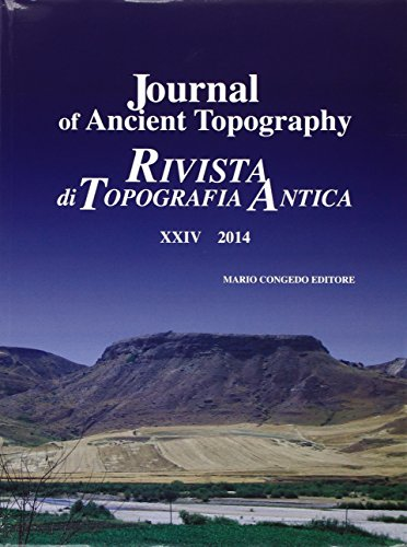 Journal of ancient topography XXIV - 2014: Uggeri,Giovanni