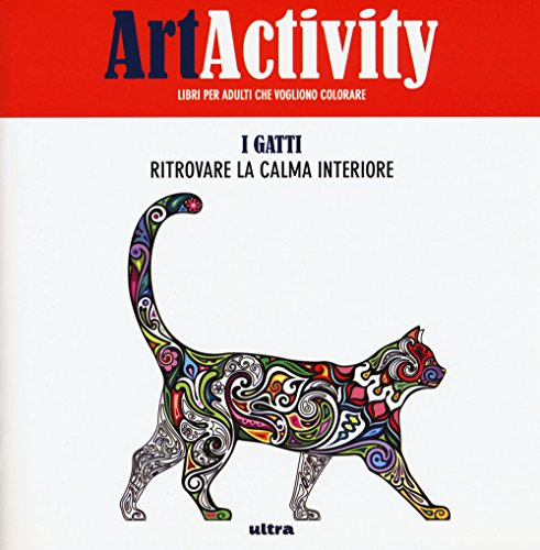 9788867763924: Art activity pocket. I gatti. Ritrovare la calma interiore