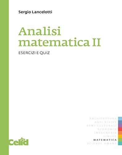 9788867890958: Analisi matematica 2. Esercizi e quiz