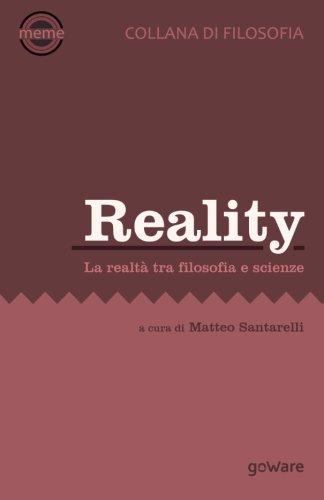 9788867973347: Reality. La realtà tra filosofica e scienze (Meme)