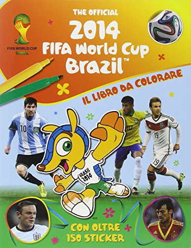 9788868212612: The official 2014 Fifa World Cup Brazil. Il libro da colorare