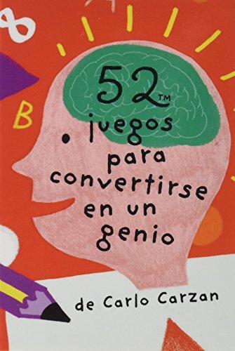 9788868216399: Baraja 52 juegos para convertirse en un genio