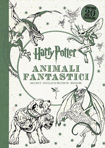 9788868219956 Harry Potter Animali Fantastici Mini Colouring Book