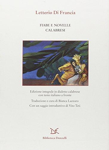 Fiabe e novelle calabresi : Di Francia,Letterio