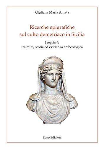 Ricerche epigrafiche sul culto demetriaco in Sicilia.: Amata Giuliana Maria