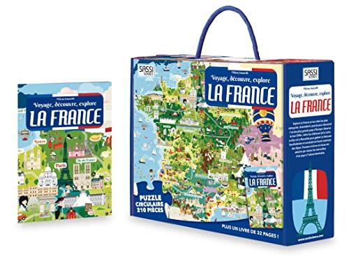 Puzzle: Voyage, découvre, explore la France: Zanotelli, Milena