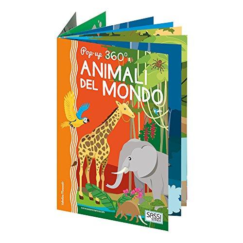 POP UP 360 ANIMALI DEL MONDO: AA.VV.