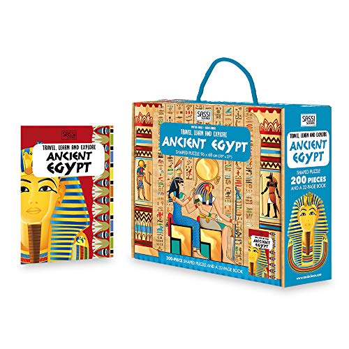 9788868608392: Ancient Egypt (Travel, Learn & Explore Carry Puzzle): 1 (Puzzles)