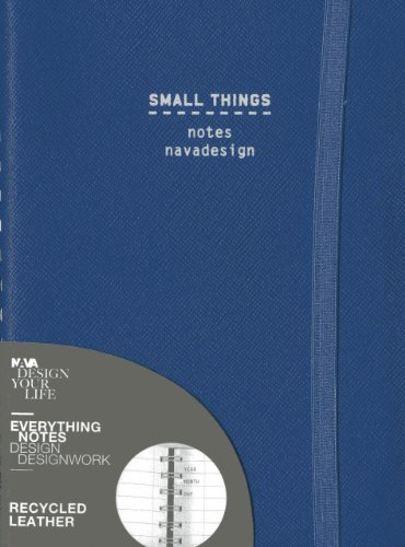 9788868780289: Small Things, Ring Bound, Blue Denim: Ruled Pages