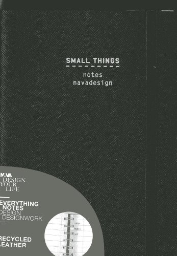 9788868780296: Small Things, Ring Bound, Black: Ruled Pages