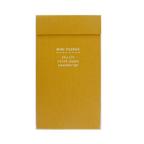 9788868780357: Mini Things Notebook, Gold: Ruled Pages
