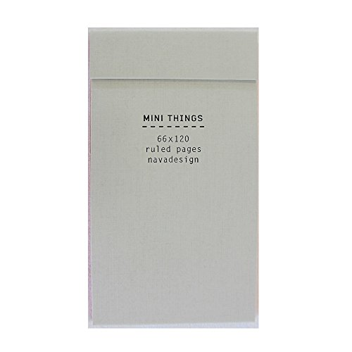 9788868780401: Mini Things Notebook, Pearl: Ruled Pages