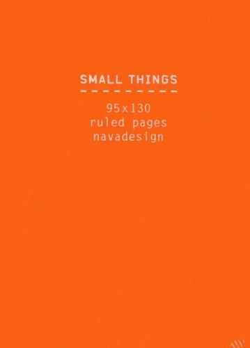 9788868780500: Nava Small Things Orange /Anglais (Small Things Note Book)
