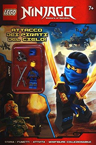 9788868835620: Attacco dei pirati del cielo! Lego Ninjago. Activity + 3D