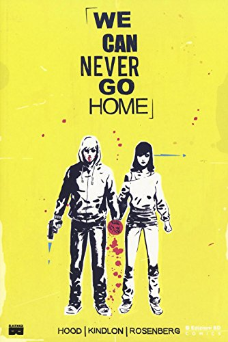 9788868837631: We can never go home (BD Comics)