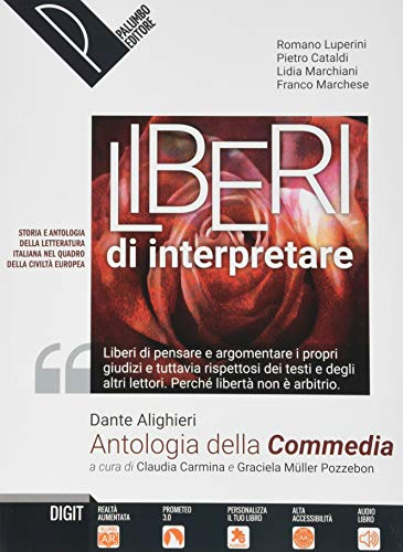 9788868895402: Antologia della Commedia. Per le Scuole superiori. Con e-book. Con espansione online