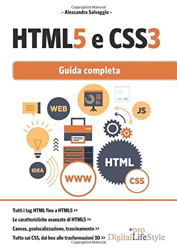 9788868952310: HTML5 e CSS3. Guida completa