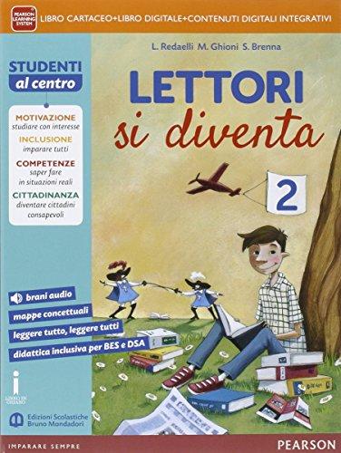 9788869100086: Lettori si diventa. Per la Scuola media. Con e-book. Con espansione online: 2