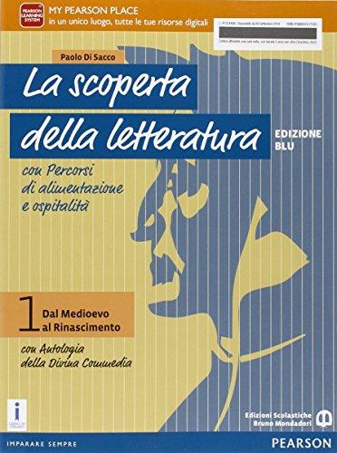 9788869101755: Letteratura professionali. Con Divina commedia. Per le Scuole superiori. Con e-book. Con espansione online: 1