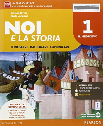9788869103056: Noi e la storia. Per la Scuola media. Con e-book. Con espansione online: 1