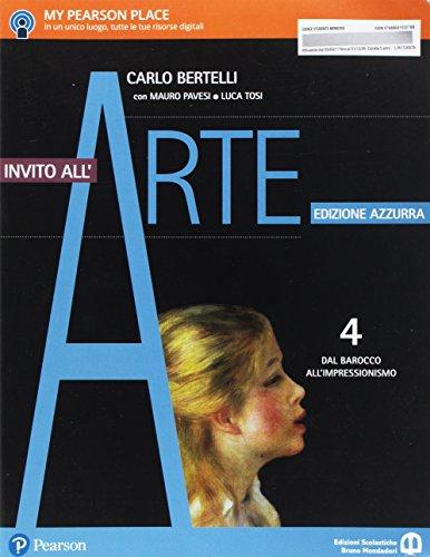 9788869103278: Invito all'arte. Ediz. azzurra. Per le Scuole superiori. Con e-book. Con espansione online: 4