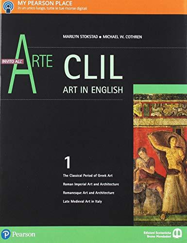 9788869103292: Invito all'arte. Con CLIL. Ediz. verde. Per le Scuole superiori . Con e-book. Con espansione online: 1