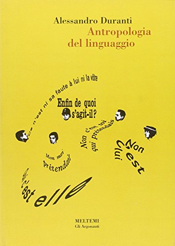 9788869160394: Antropologia del linguaggio (Meltemi.edu)