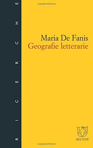 9788869162718: GEOGRAFIE LETTERARIE. (Italian Edition)