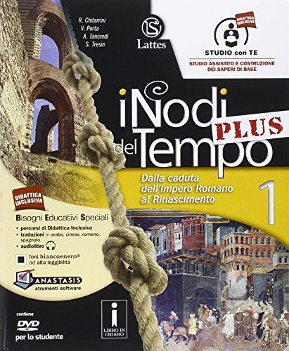 9788869170171: I nodi del tempo plus. Volume 1 con DVD Rom, CD Rom e Carte storiche, Tavole illustrate 1, Mi preparo per l'interrogazione, Per la Scuola media: 1: Vol. 1