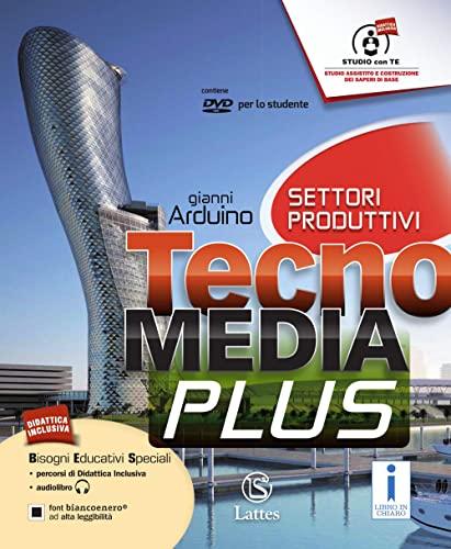9788869170485: Tecnomedia plus. Settore produzione. Tavole illustrate-Disegno-Mi preparo-Laboratorio competenze e DVD. Per la Scuola medi. Con CD. Con e-book. Con espansione online