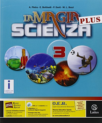 9788869171215: La magia della scienza plus. Per la Scuola media. Con DVD-ROM. Con e-book. Con espansione online (Vol. 3)