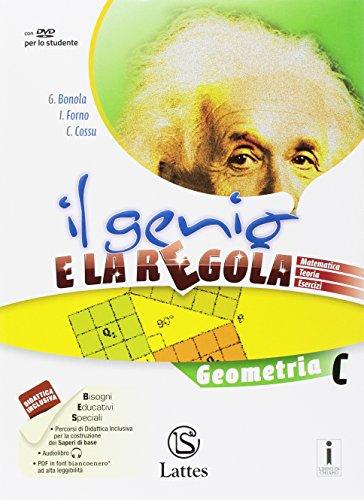 9788869171727: Il genio e la regola. Geometria C. Per la Scuola media. Con e-book. Con espansione online: 3