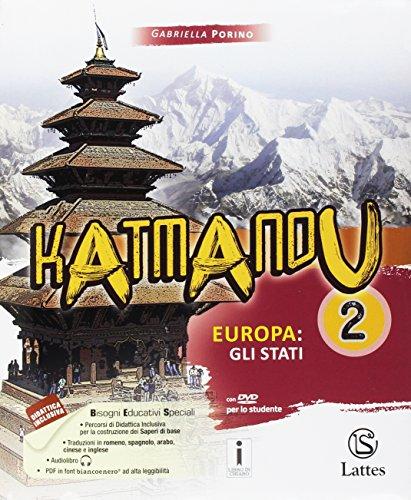 9788869172076: Katmandu. Per la Scuola media. Con e-book. Con espansione online. Con 4 libri: Atlante-Tavole-Mi preparo per l'interrogazione-Quaderno competenze: 2