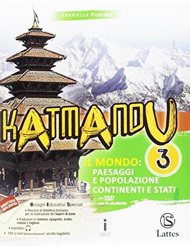 9788869172083: Katmandu. Per la Scuola media. Con e-book. Con espansione online. Con 4 libri: atlante-Tavole-Mi preparo per l'interrogazione-Quaderno competenze: 3