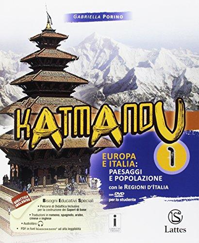 9788869172120: Katmandu. Per la Scuola media. Ediz. per la scuola. Con DVD-ROM. Con 3 Libro: Atlante 1-Tavole-Mi preparao per interrogazione