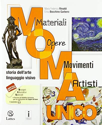 9788869173073: M.O.M.A. Materiali-opere-movimenti-artisti. Storia dell'arte. Linguaggio visivo. Vol. unico. Con Album dell'arte. Per la Scuola media. Con ebook. Con espansione online