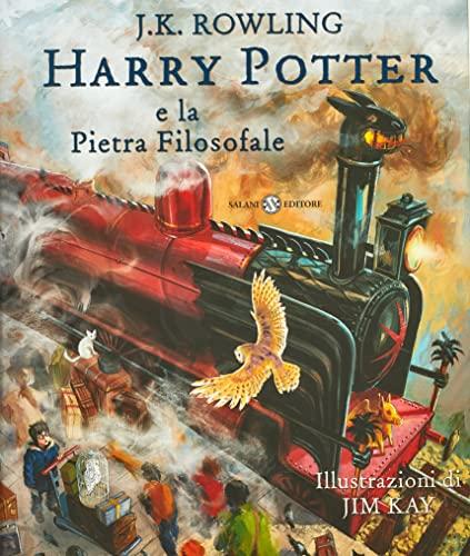 9788869183157: Harry Potter e la pietra filosofale: edizione illustrata a colori