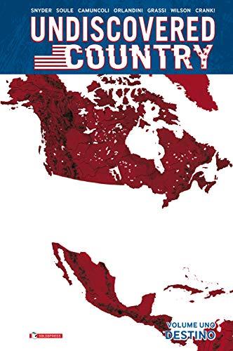 9788869198007: Undiscovered country. Destino (Vol. 1)